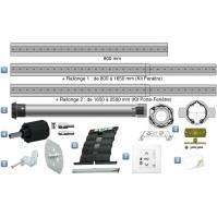 Kit Motorisation Radio iO Somfy pour Porte Fenêtre - Emetteur mural