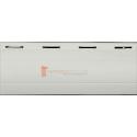 Pack de 4 lames 40 mm PVC, Blanc - 2 mètres