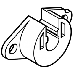 Coussinet en nylon, pour téton de 10 mm