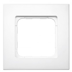 Somfy Cadre Smoove - Coloris Blanc laqué