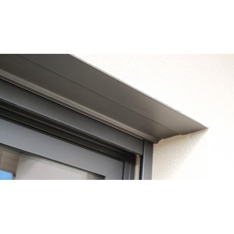 Sous face de coffre en alu - 2000 mm - Blanc RAL 9016 (copie)