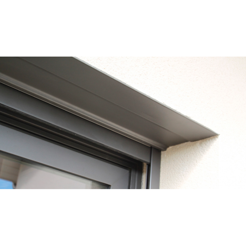 Sous face de coffre en alu - 1500 mm - Gris anthracite RAL 7016