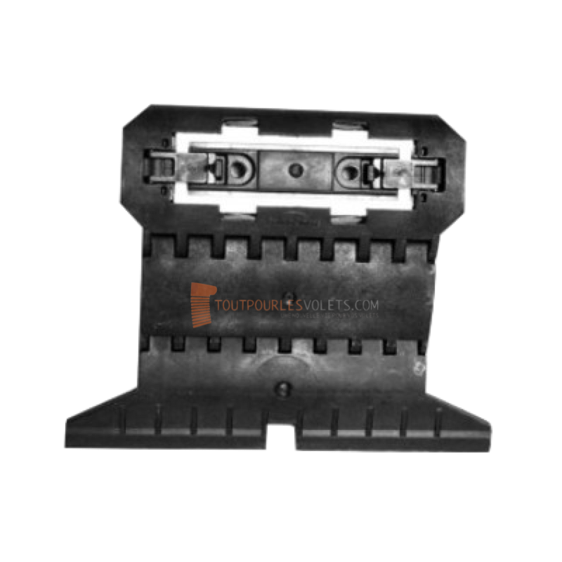 Attache rigide 2 maillons lame de 8 mm pour tube octo 40, 60 et 70