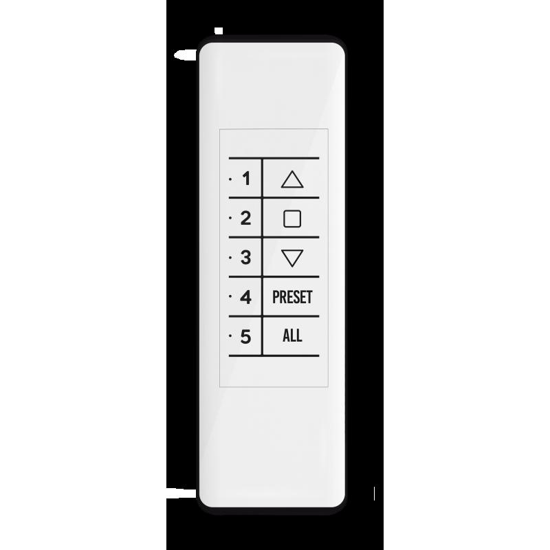 Gaposa Smart 5 télécommande radio 5 canaux - Blanc