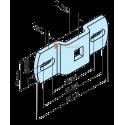Support carré de 10 mm pour moteur volet roulant Becker - TOUTPOURLESVOLETS.COM