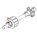Embout télecopique pour tubes Octo 60 ou Deprat 62, Tube rond diam. 16, L220