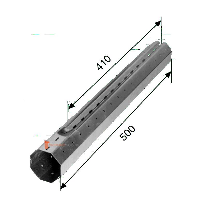 Tube télescopique Octo 60 - L500