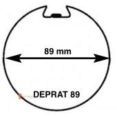 Embouts pour tube Deprat 89