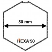 Embouts pour tube Hexa 50