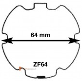 Embouts pour tube ZF64