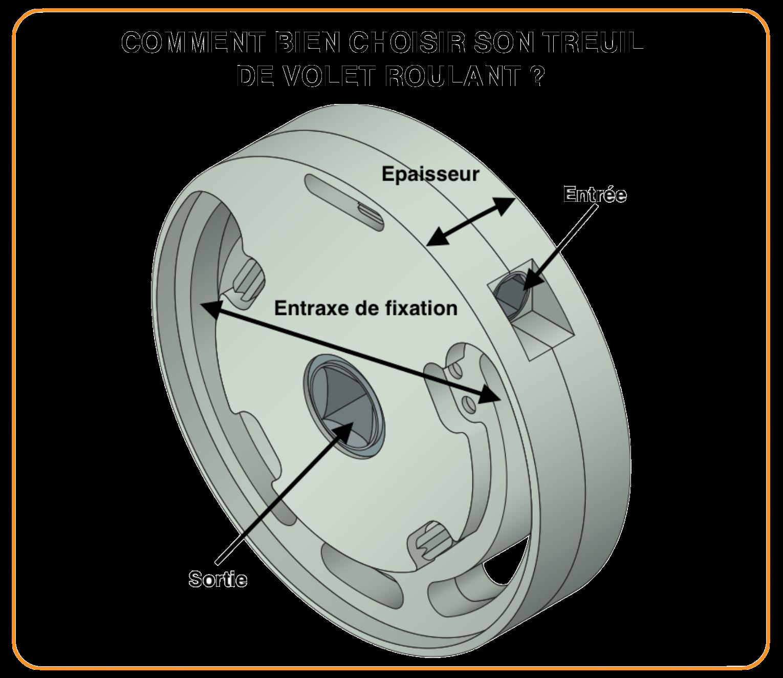 Treuil Volet Roulant Mecanisme Volet Roulant